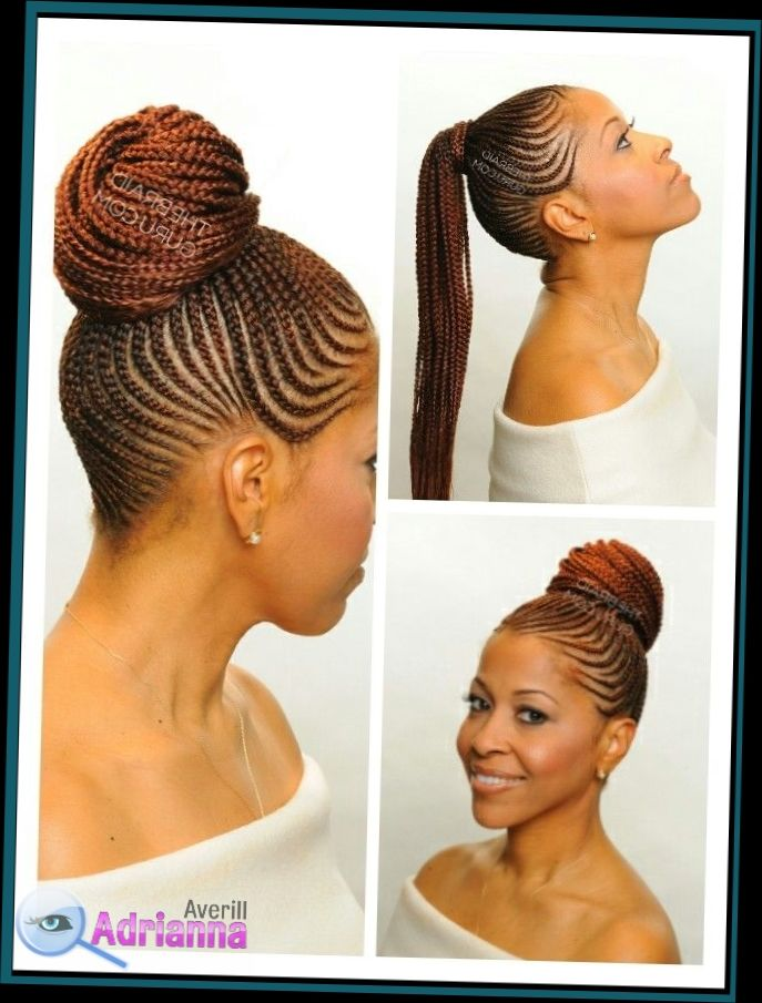 Easy Cornrow Styles For Short Hair Best Cornrow Hairstyles Cornrows Mohawk With Extensions Most Short Hairs Cornrow Hairstyles Hair Styles Cornrow Ponytail