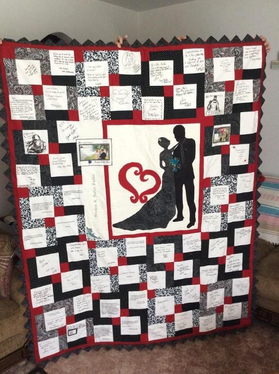 You have to see From This Moment-Guest Book Quilt by juned1125!