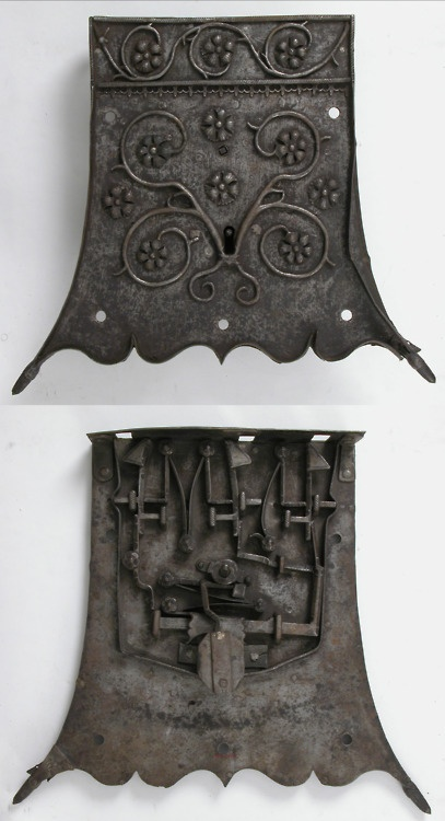 Lock, made in Germany in the early 16th century