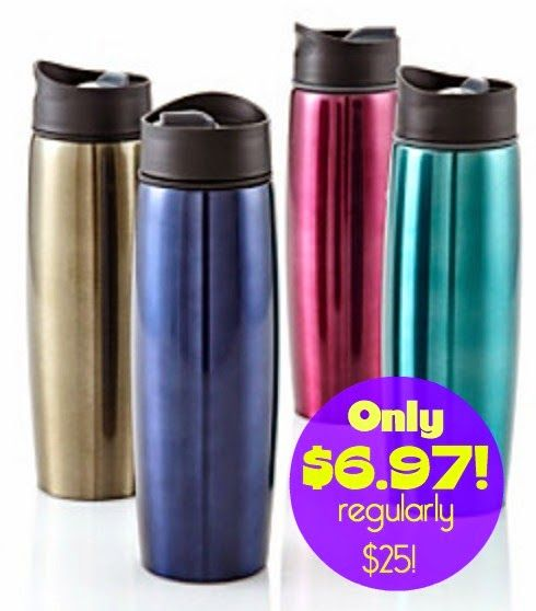 Bonton.com:  Titanium Stainless Steel Coffee Mugs = $6.97 + FREE Shipping! Regularly $25!