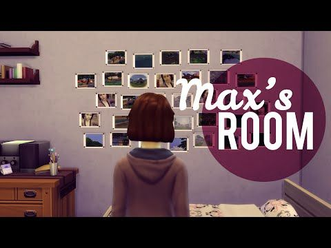 The Sims 4: Life is Strange - Max's Room | Speed build + Download -