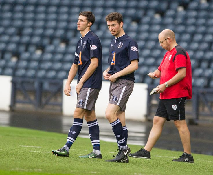 Queen's Park's Luke Whelan makes his debut during the Betfred Cup game between Queen's Park and Edinburgh City.