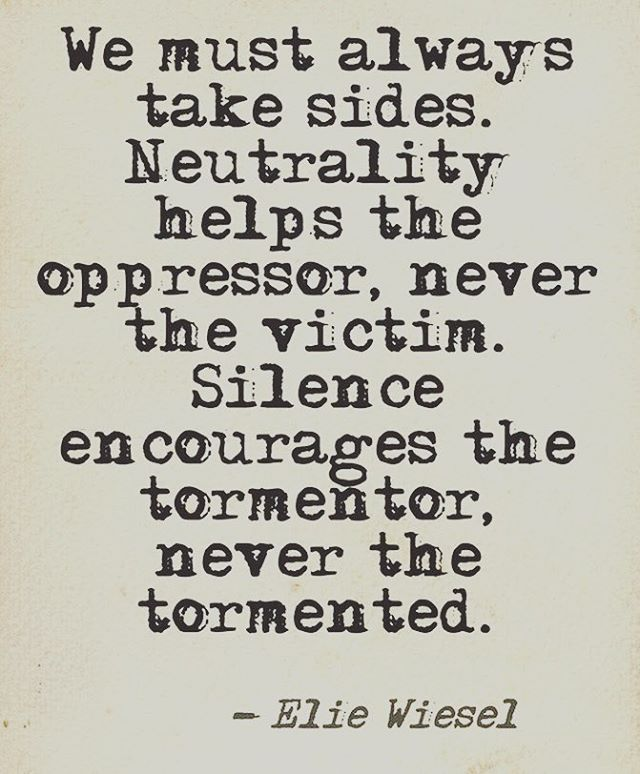 """""""Silence encourages the tormentor."""" I found this to be a powerful statement after seeing it proven in stories and articles we've read where a policy or a law is made from the treetops & then is never enforced. Woineshet Zebene's story showed us that the silence of Ethiopia's rape culture literally encourages men to rape women, because when they do, it ensures them a wife."""