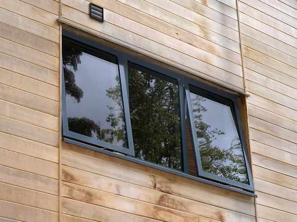 aluminium window frames with powder coating idsystems