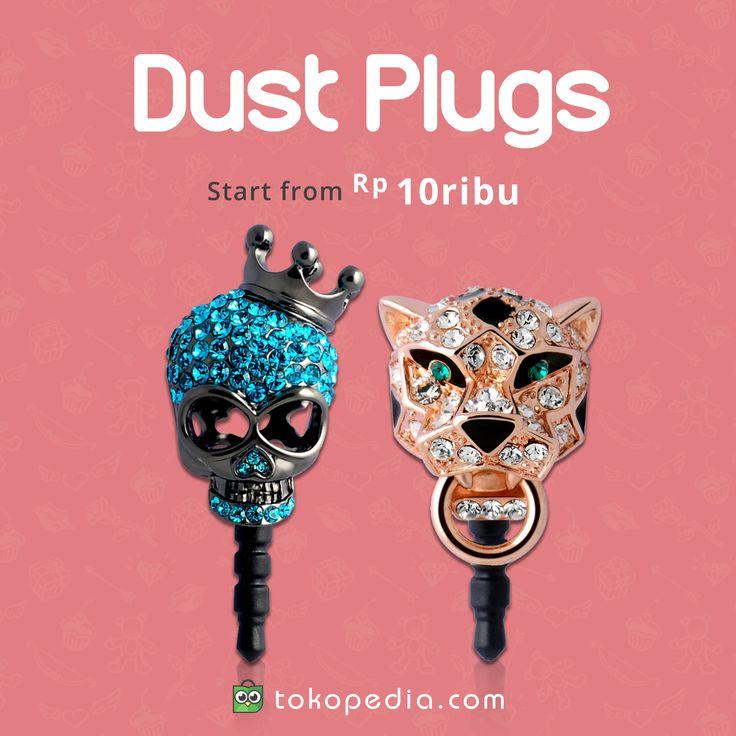 Yuk temukan dan beli berbagai Dust Plug murah meriah, mulai dari Rp 10.000,- hanya di https://www.tokopedia.com/hot/dust-plugs