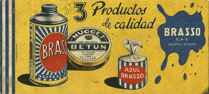 Image result for vintage brasso tin
