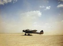 Bristol Beaufighter Mk 1 in No. 252 Squadron, North Africa.