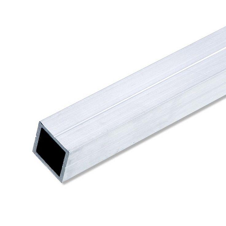 Tube Carré Aluminium époxy L1 M X L235 Cm X H235 Cm