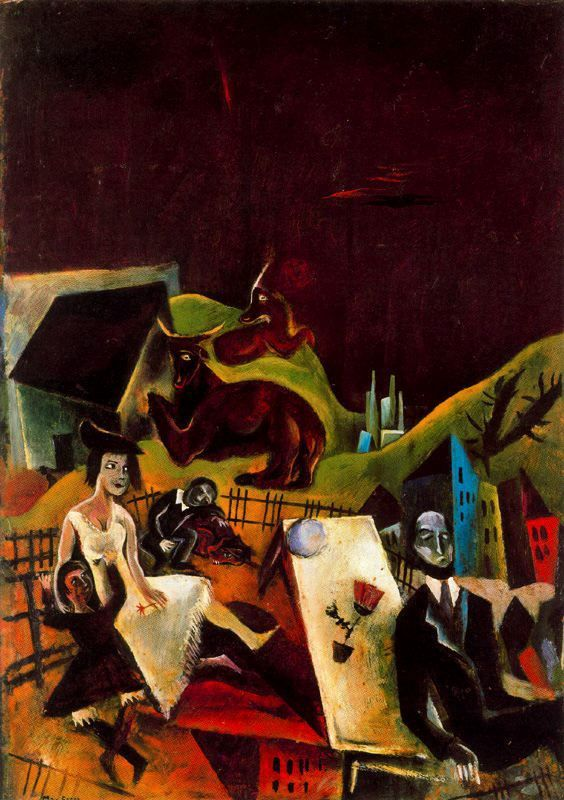 Family Excursions 1919 - Max Ernst