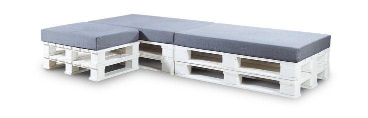 Palle sofa, kan bruges inde og ude.kan sættes sammen på mange ...