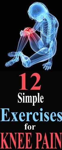 12 Simple Exercises for Knee Pain Relief