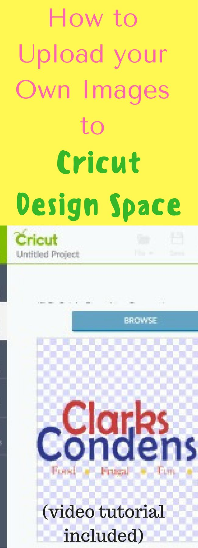 How To Upload Images To Cricut Design Space