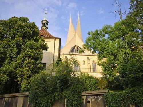 Emauzy - klášter benediktinů Na Slovanech