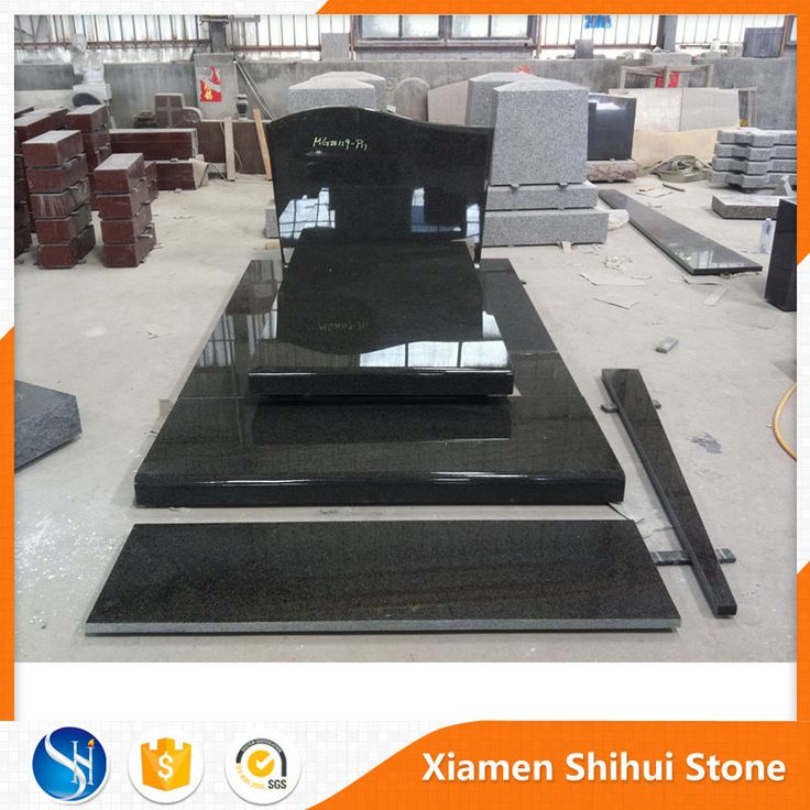 Best Price Various Size Black Granite Blank Tombstone in Zimbabwe
