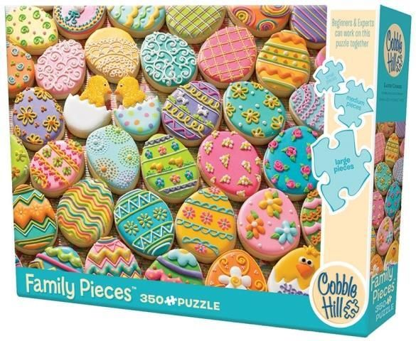 Spend time with family this Easter and do a Family Puzzle!  Yummy looking too!