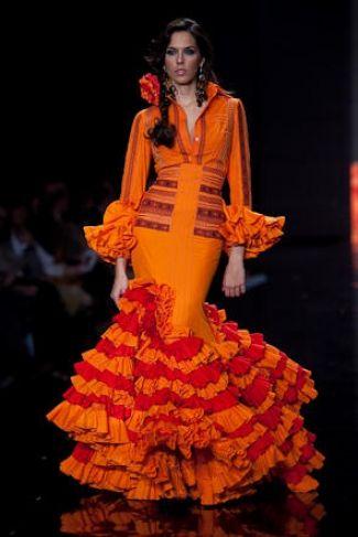 Traje de Flamenca - Juana-Martin - Simof-2009