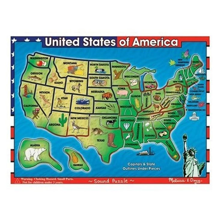 #Ebay #USA #Map #Sound #Puzzle #Educational #Interactive # ...