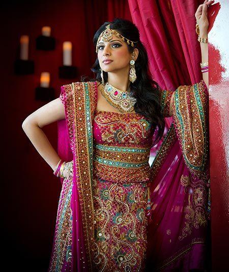 wedding gowns around the world | Nepali Dress Sari ...