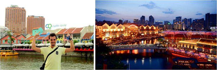 Clarke Quay-Singapur