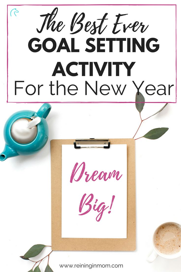 Don't let the opportunity of a clean slate in the new year pass you by! This killer goal setting activity will make you achieve your dreams. Focus your goals and launch your best life today! via @Reininginmom