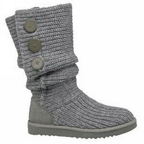 UGG Boots - Classic Cardy - Grey - 5819