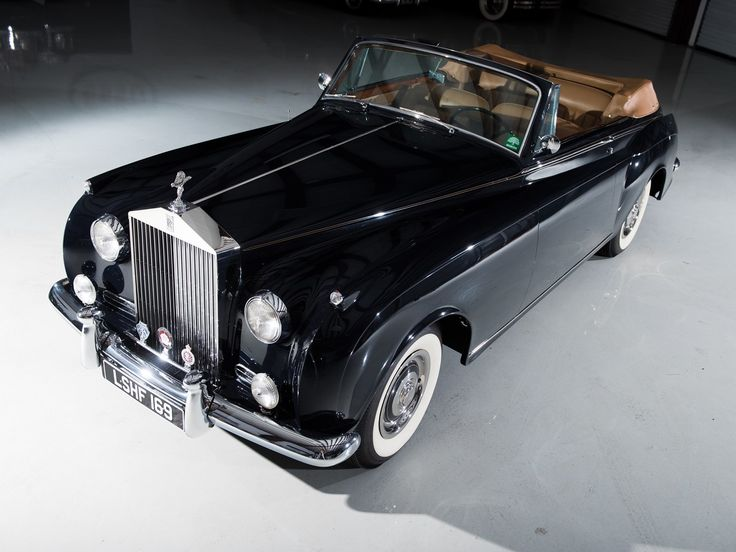 1959 Rolls-Royce Silver Cloud I Drophead Coupe by James Young  Chassis No.LSHF169  Body No.4031