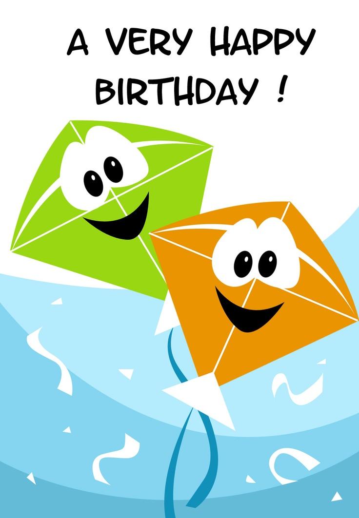 Free Printable A Very Happy Birthday Greeting Card