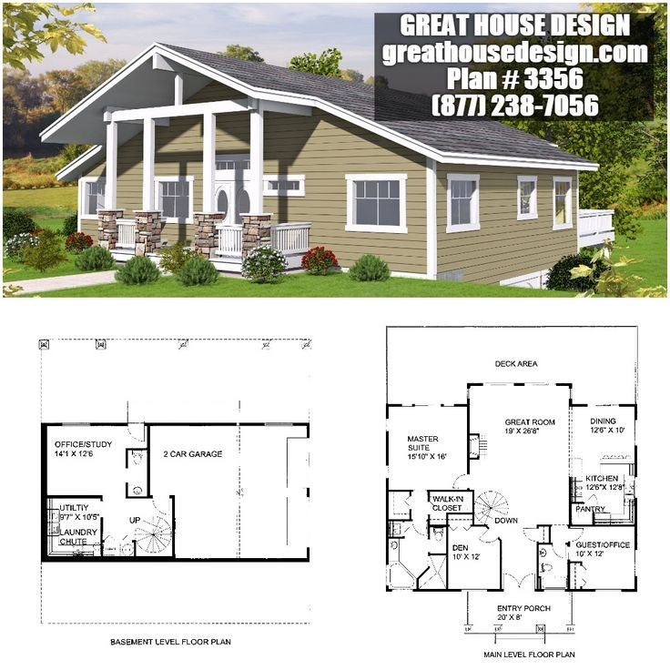 Garage Apartment Icf Plan 2136 Toll Free 877 238 7056: 106 Best Standard 2x6 Framed Homes By Great House Design
