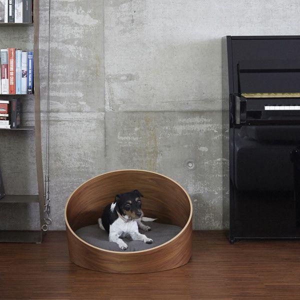 Lit design pour chien par MiaCara / Design dog bed by MiaCara