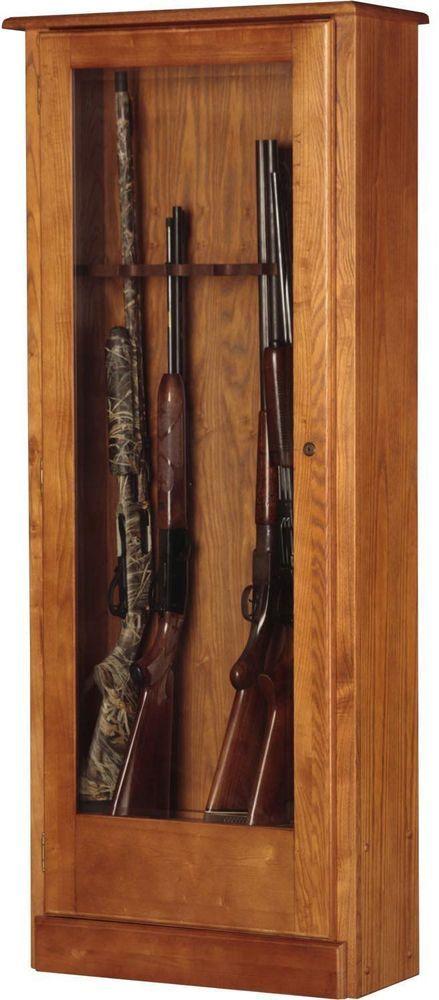 Gun Cabinets For Sale Wood Storage For Rifles 10 Gun Display Locking  #AmericanFurnitureClassics