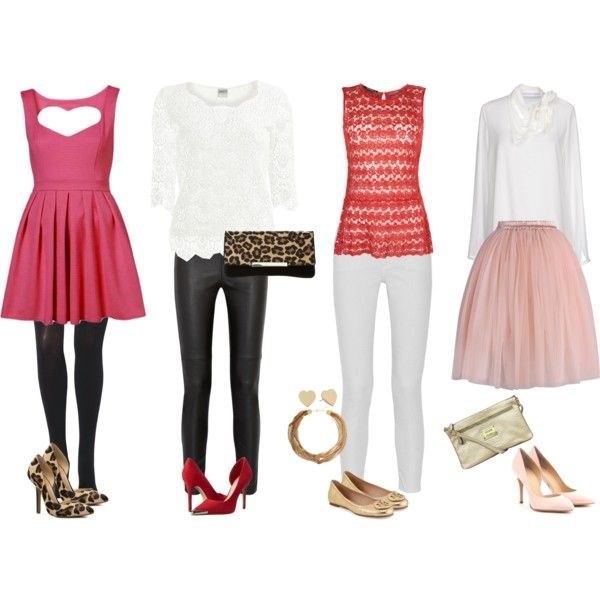 """Valentine's Day Outfits"" by nosborn on Polyvore"