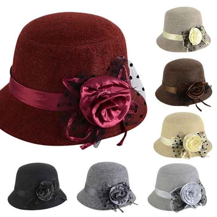 Купить товарВеликолепный лето стиль женщины солнце экран ретро цветок войлок котелок сплошной цвет мягкая фетровая шляпа котелок шапки для леди в категории Летние шляпына AliExpress.     2015 моды для женщин, Ретро цветок Войлок Боулер сплошной цвет шлема Fedora шляпа котелок шапки