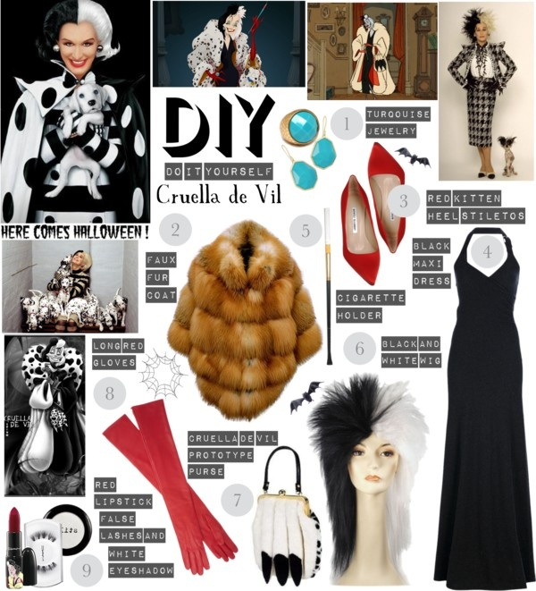 10 best cruella deville cosplay images on pinterest costumes its a very do it yourself halloween cruella de vil by vintagecoutreboy solutioingenieria Image collections