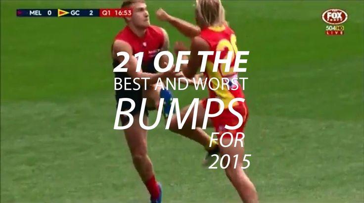Best & Worst Hits 2015 AFL season https://www.youtube.com/watch?v=1gLzpYHU2Oo Love #sport follow #sports on @cutephonecases