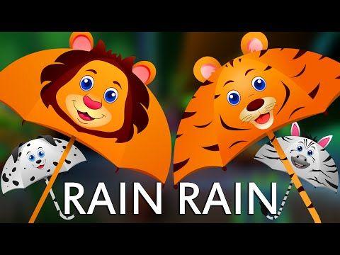 Rain Rain Go Away | Super Simple Songs | Sesame Street Nursery Rhyme Week - YouTube