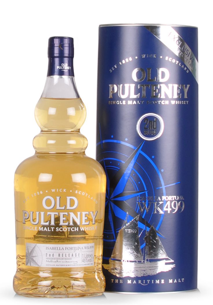 Whisky Single Malt Old Pulteney, Isabella Fortuna WK499, 2nd Release Limited Edition (1L) - SmartDrinks.ro