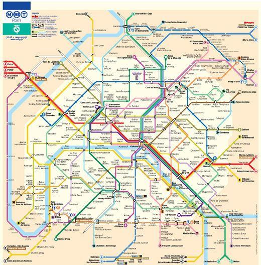 cartes-souterraines17 dans les métros à travers le monde