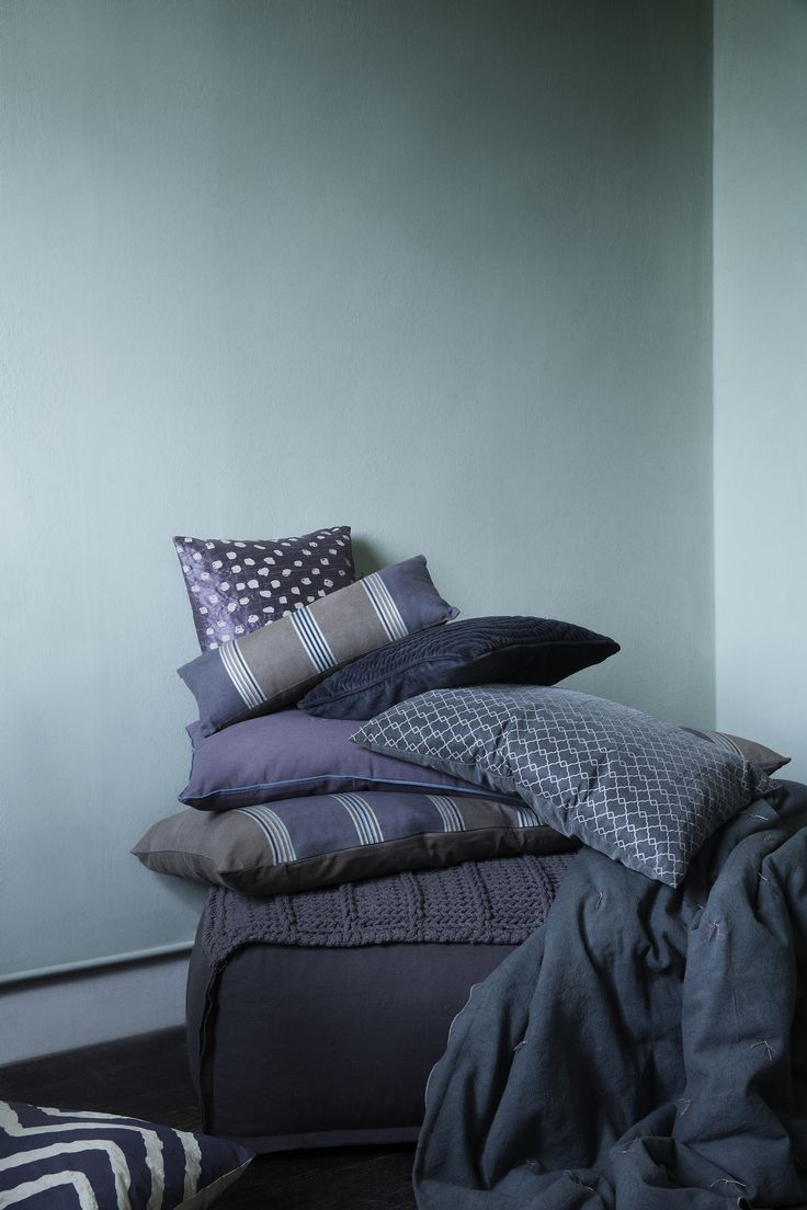 Striped pillows for Broste Copenhagen AW 14.