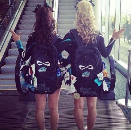 Infinity Cheer Bags | Nfinity backpacks ♡.♡ this is me and my girl