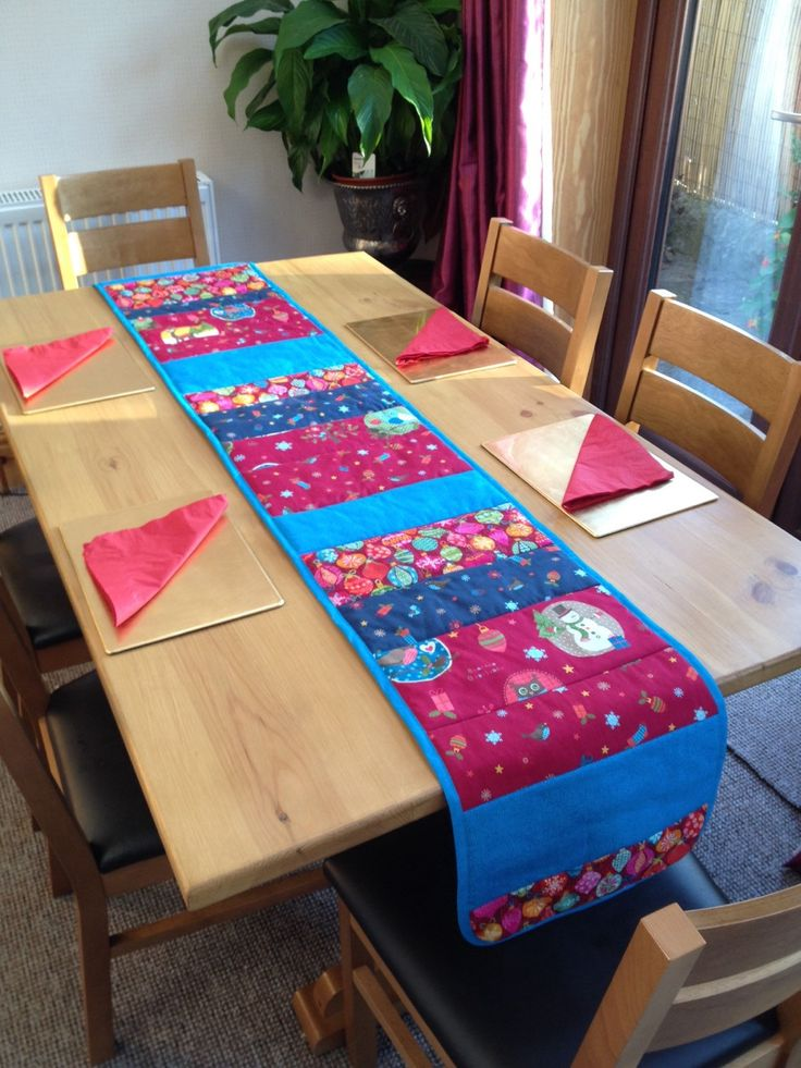 A personal favorite from my Etsy shop https://www.etsy.com/uk/listing/250338633/xmas-table-runner-christmas-table-runner