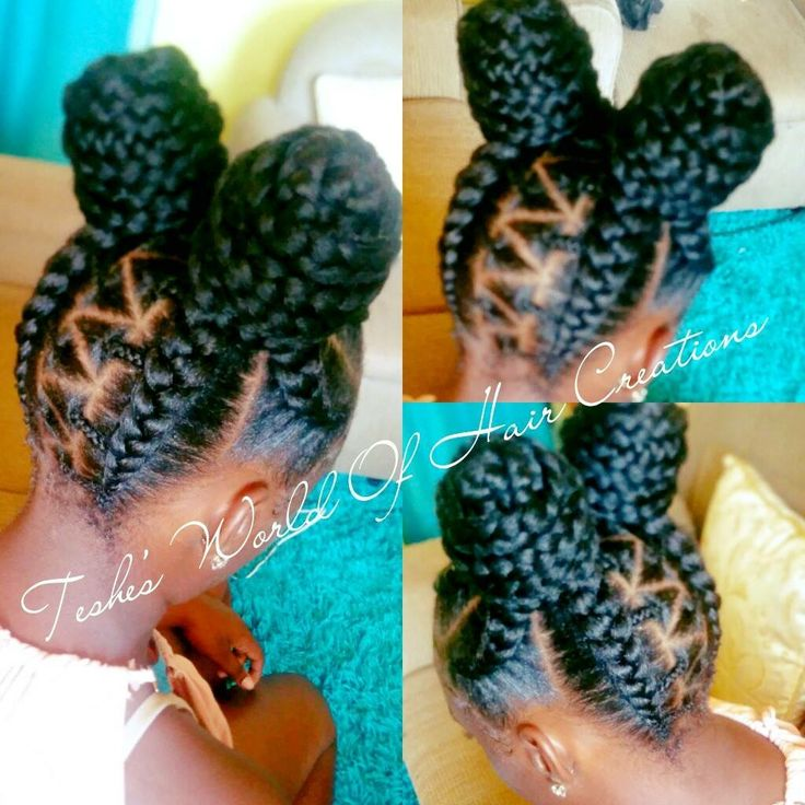 Best 25 kid braid styles ideas on pinterest kids braided stunningly cute ghana braids styles for 2017 urmus Image collections