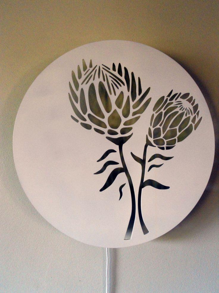 Protea Wall Light | Zulu HatsZulu Hats