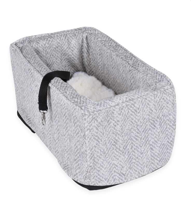 Console Dog Car Seat LUXURY Microsuede - Small AUTO Size