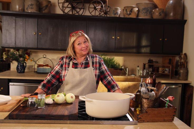 Nancy Fuller Farm House Rules on the Food Network Chef & Owner of Full