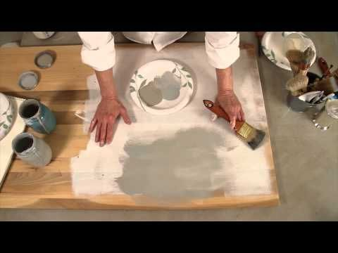 Colorways with Leslie Stocker » Layering Technique for Chalk Paint Colors on Wood STEPS 2 and 3