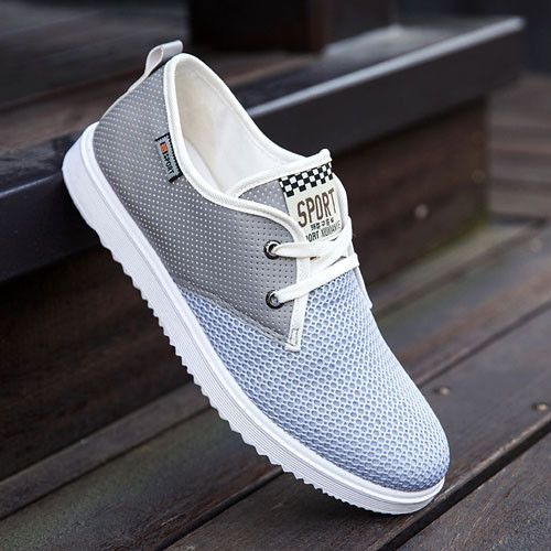 2017 Hot Sale Men Summer Shoes Breathable Male Casual Shoes