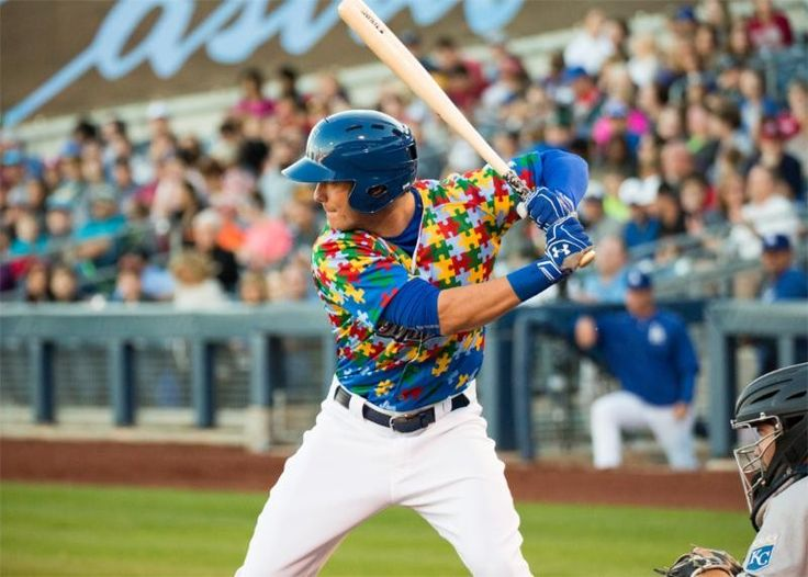 Cody Bellinger with the Tulsa Drillers. Son of Clay Bellinger.
