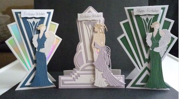 Art Deco amnd Glitz and Glam die sets