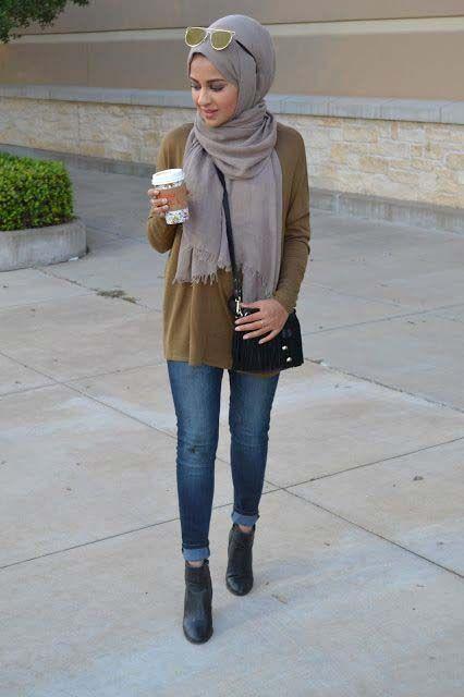 Casual Style Hijab1