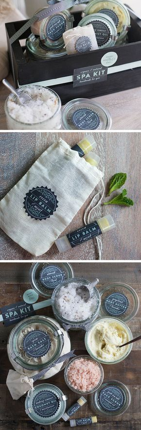 Homemade Natural Spa Kit   Click Pic for 18 DIY Mothers Day Gift Ideas for Kids to Make   Last Minute Mothers Day Gifts from Daughter
